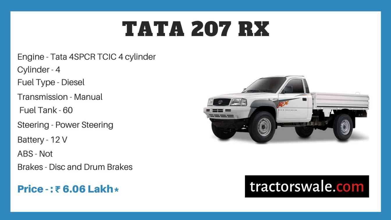 Tata 207 RX Price