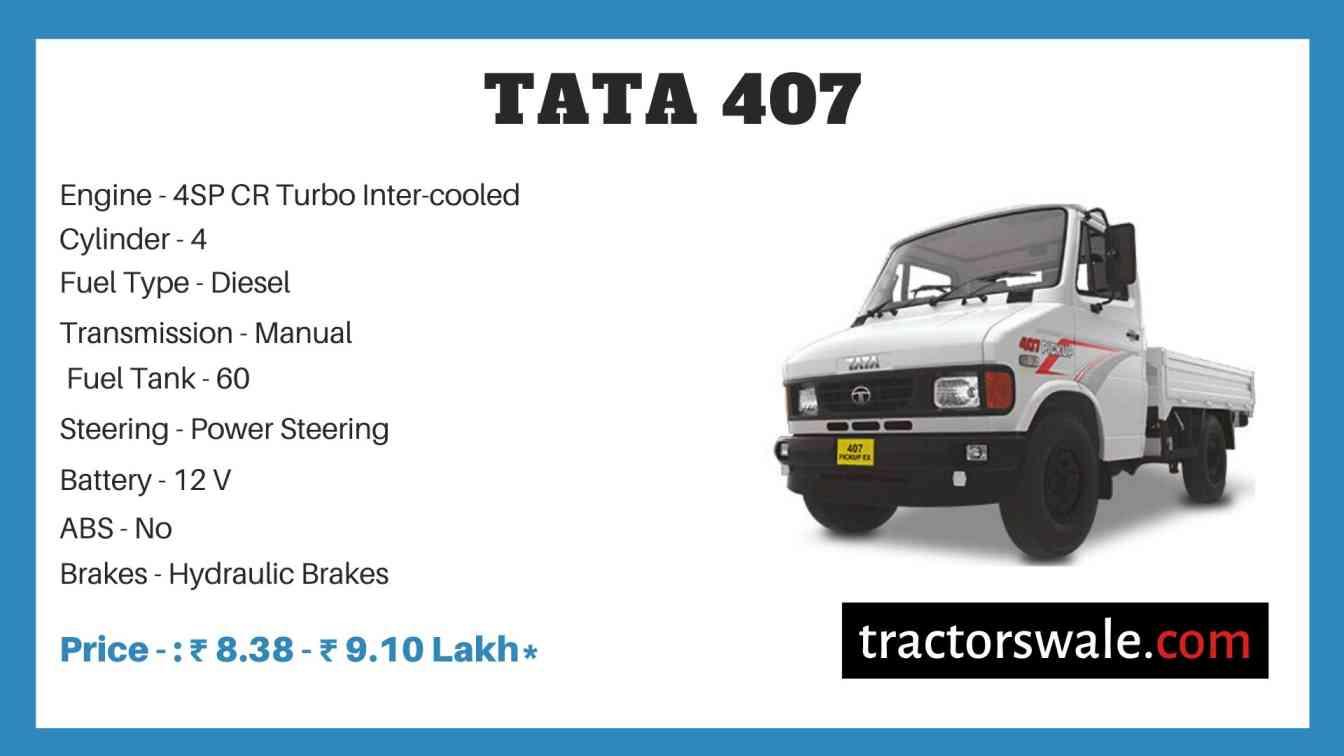 Tata 407 Price