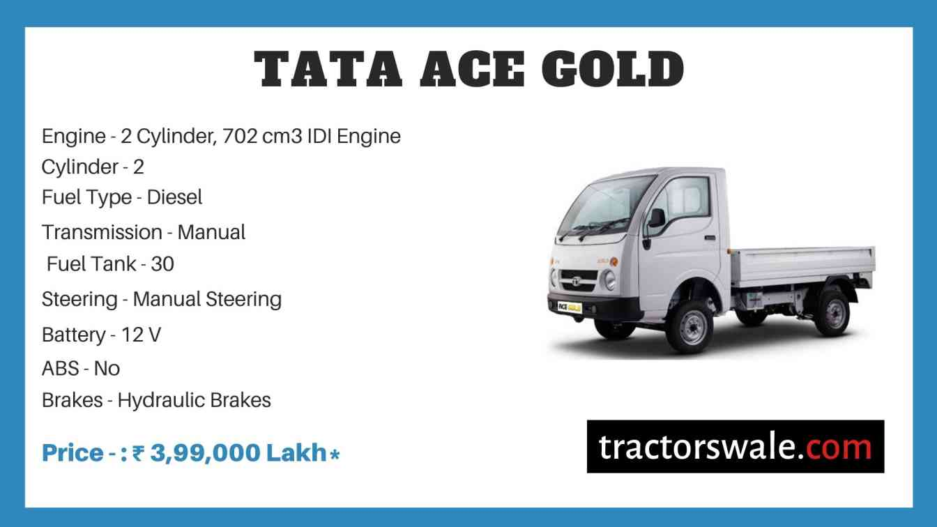 Tata ACE Gold price