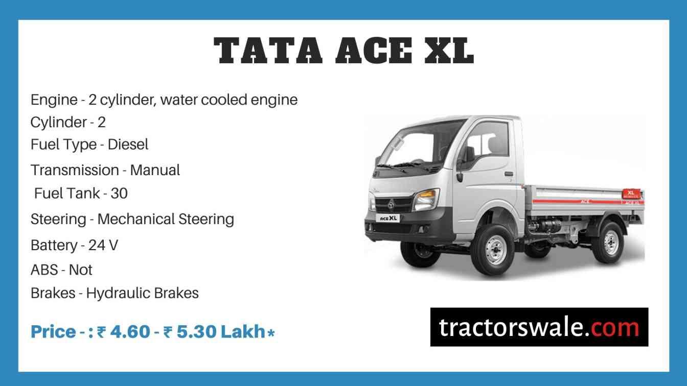 Tata ACE XL Price