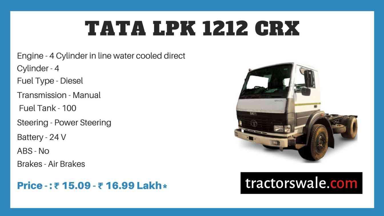 Tata LPK 1212 CRX Price