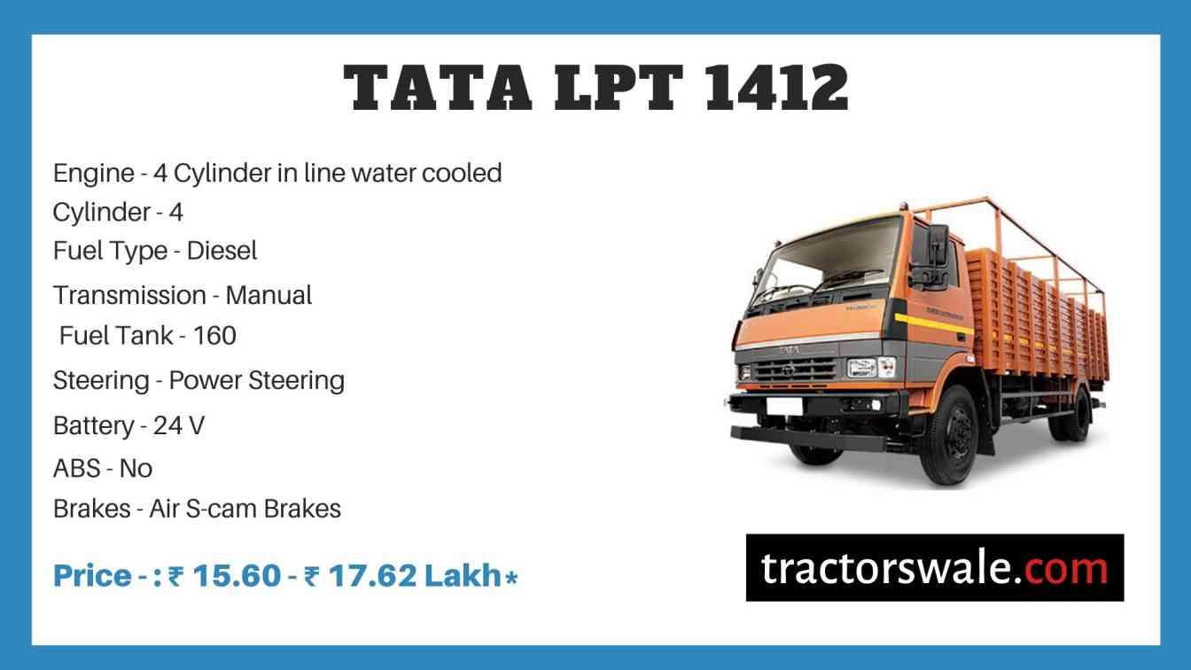 Tata LPT 1412 Price