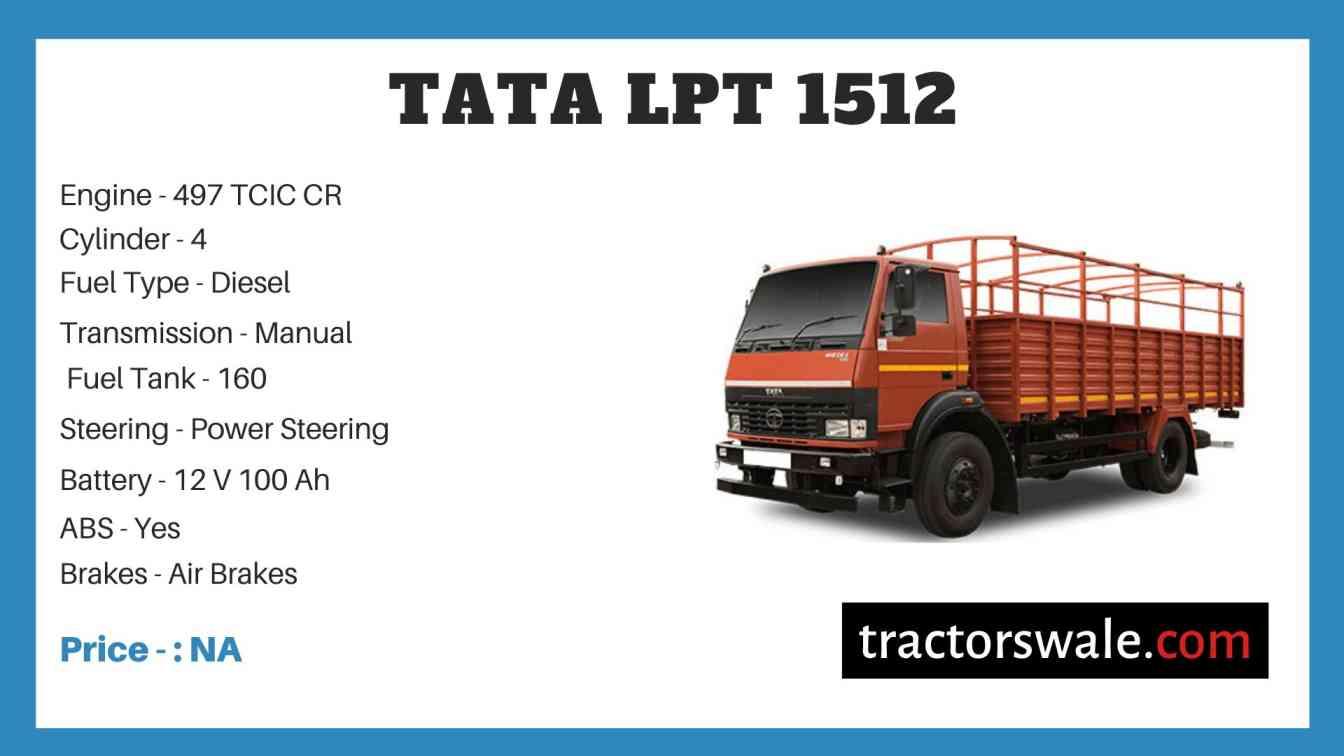 Tata LPT 1512 Price