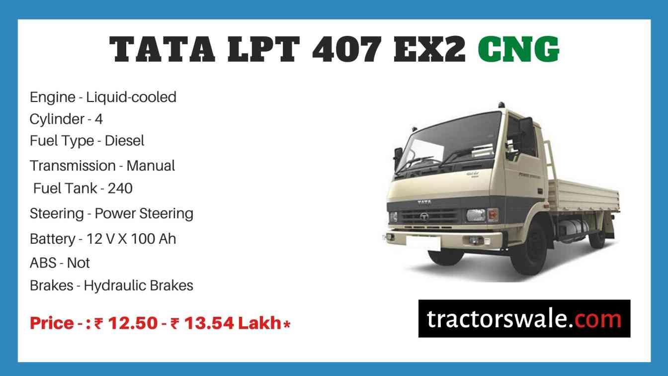 Tata LPT 407 EX2 CNG Price