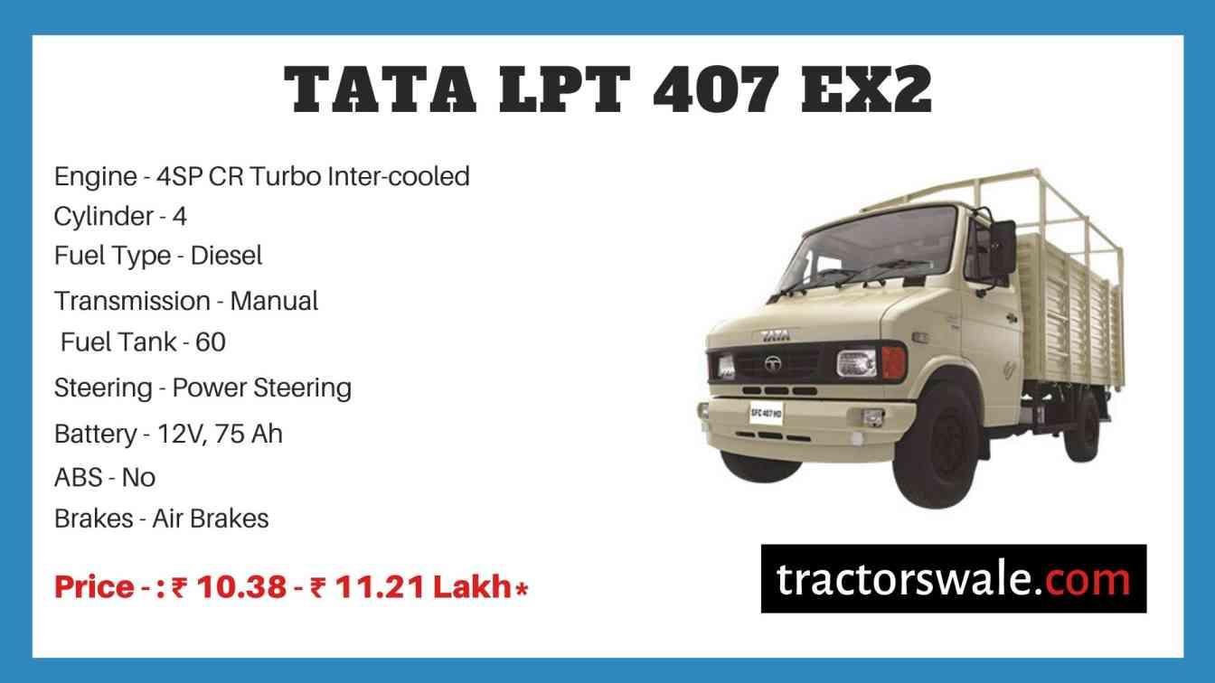 Tata LPT 407 EX2 Price