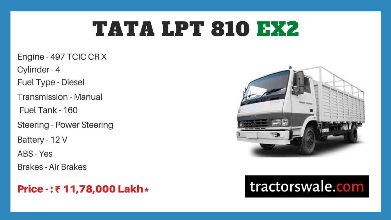 Tata LPT 810 EX2 Price