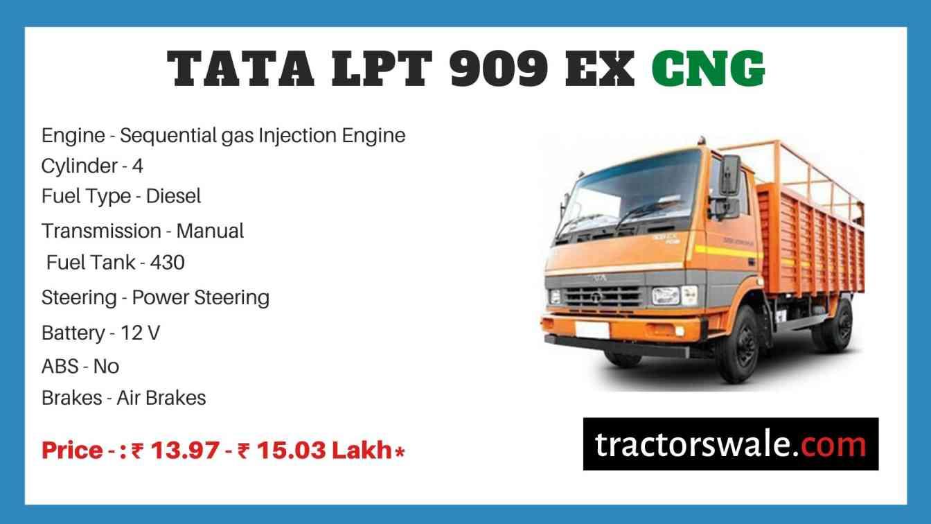 Tata LPT 909 EX CNG Price