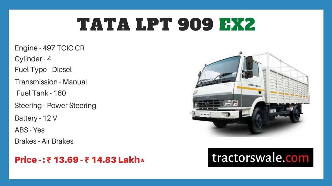Tata LPT 909 EX2 Price