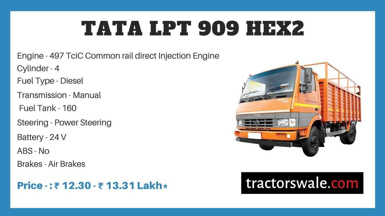 Tata LPT 909 HEX2 Price