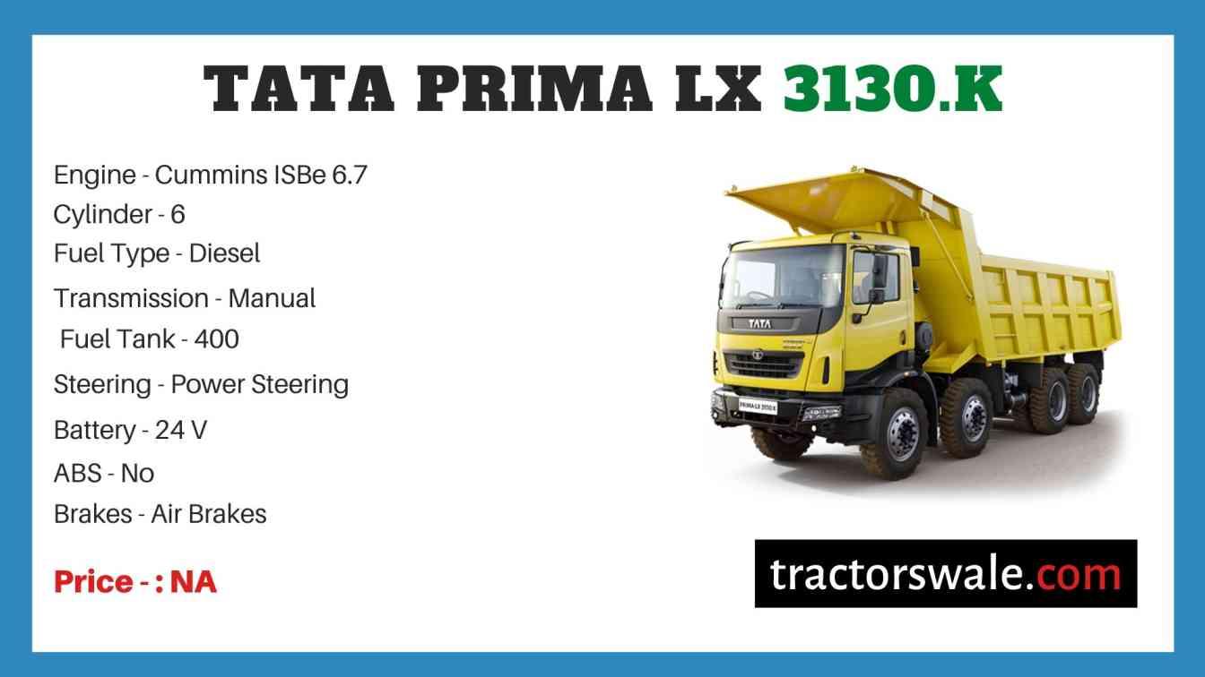 Tata Prima LX 3130.K Price