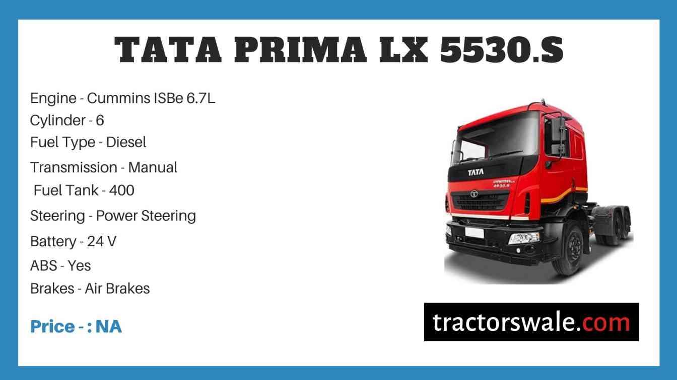 Tata Prima LX 5530.S Price