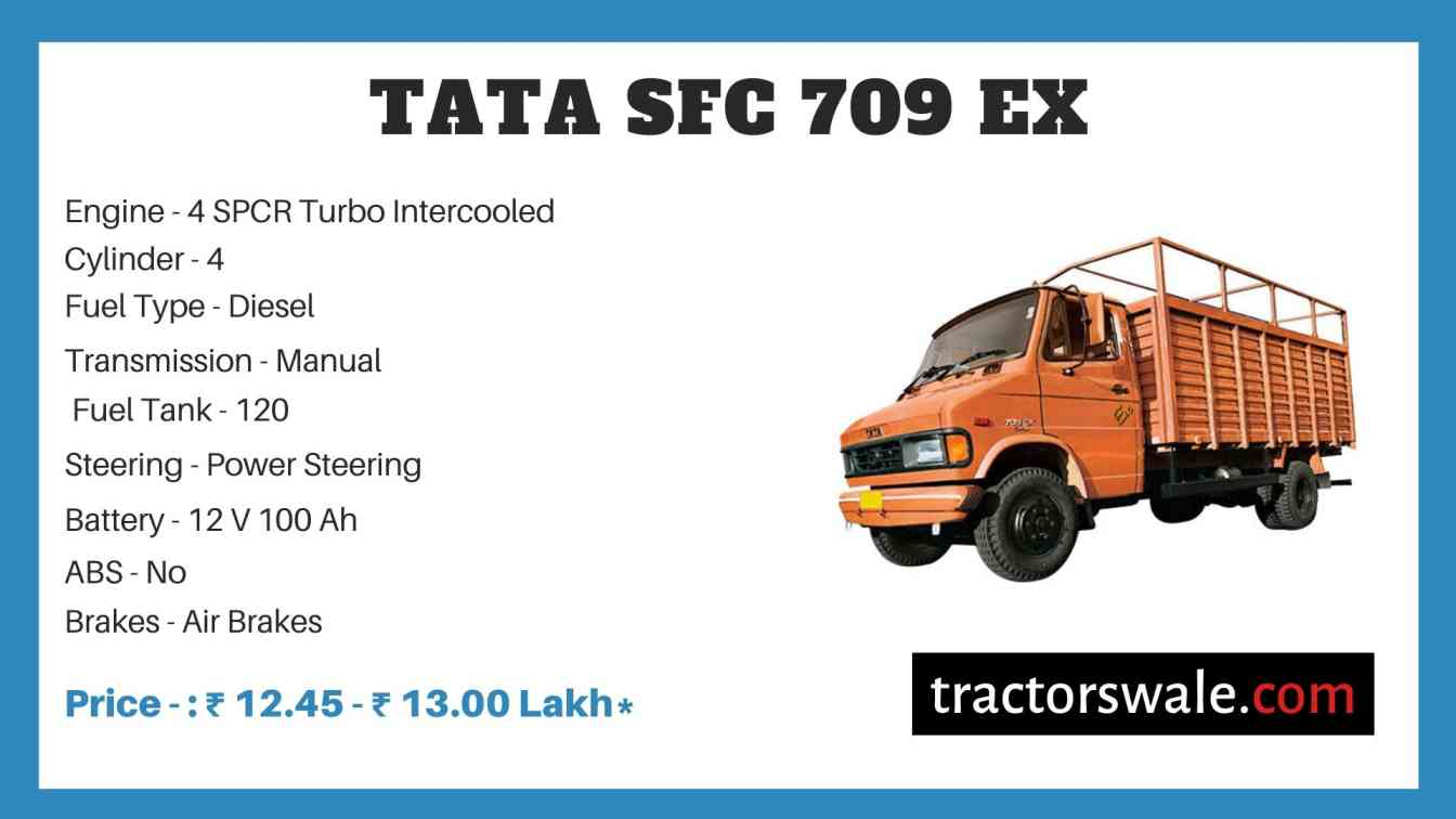 Tata SFC 709 EX Price
