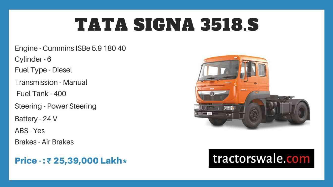 Tata SIGNA 3518.S Price
