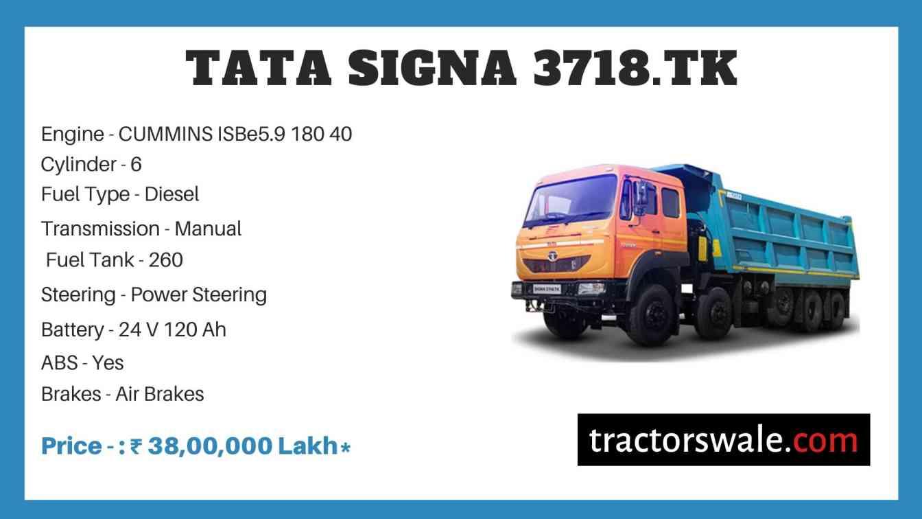 Tata SIGNA 3718.TK Price