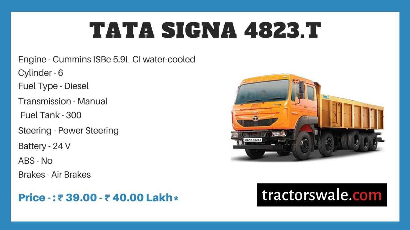Tata SIGNA 4823.T Price
