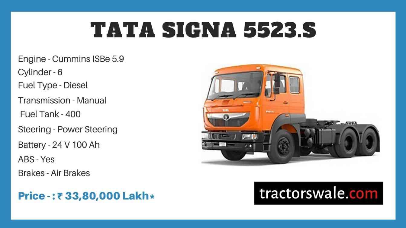 Tata SIGNA 5523.S Price
