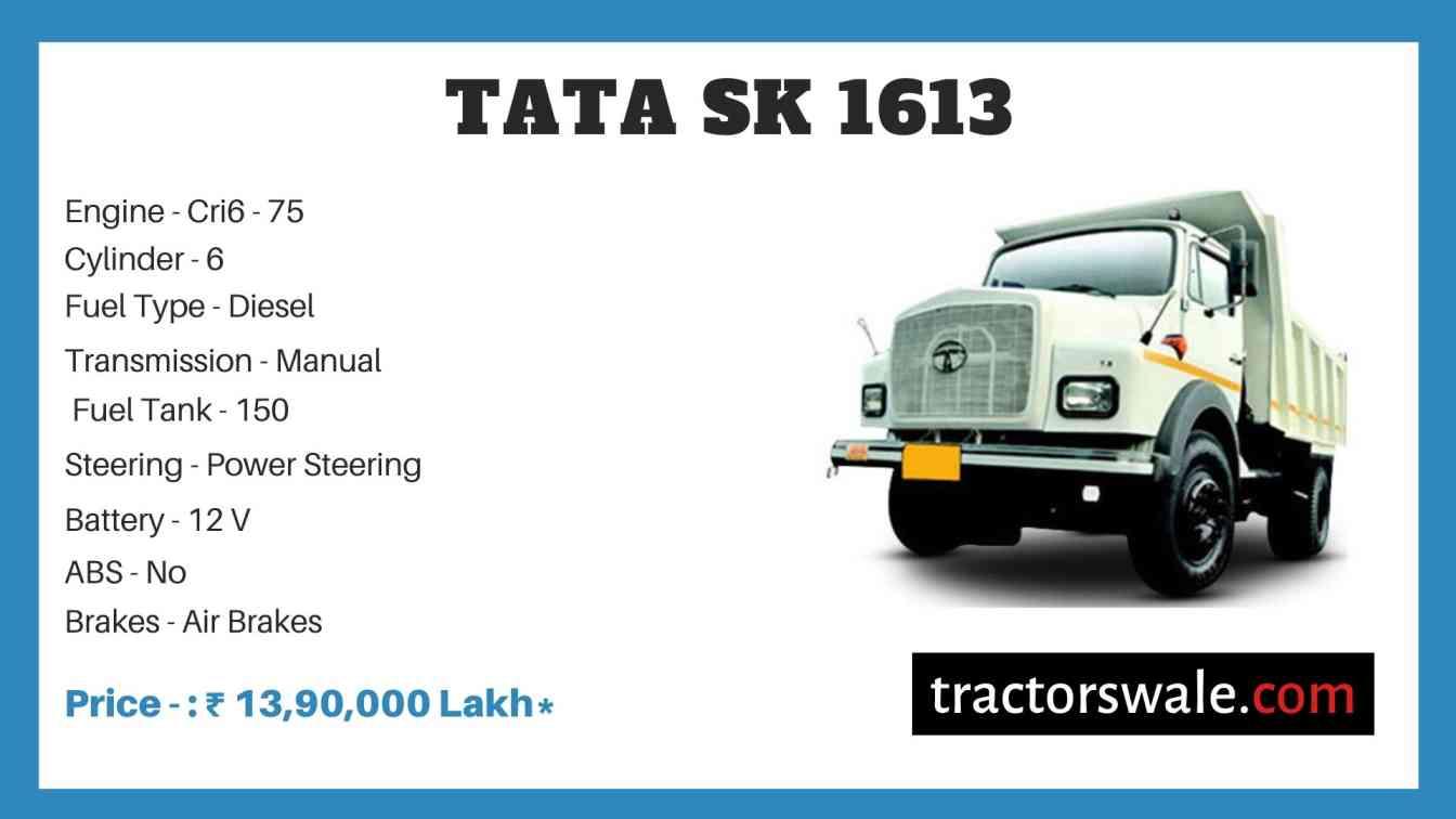 Tata SK 1613 Price