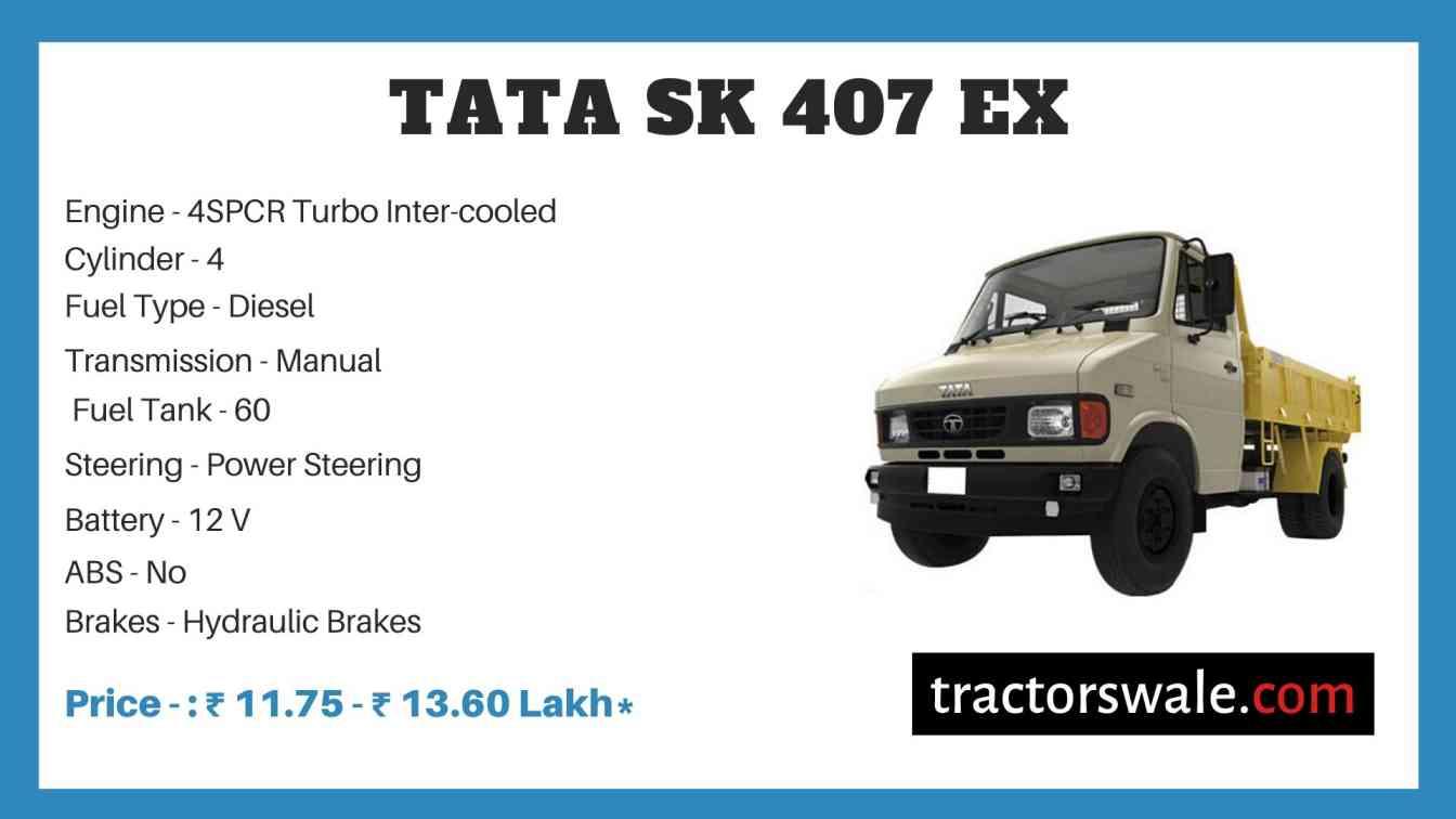 Tata SK 407 EX Price