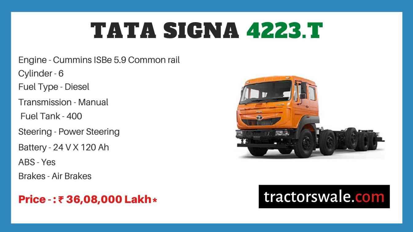 Tata Signa 4223.T Price