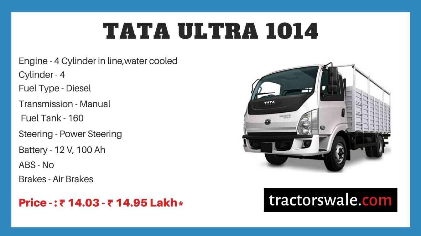 Tata ULTRA 1014 Price