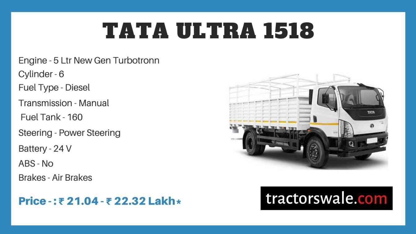Tata ULTRA 1518 Price