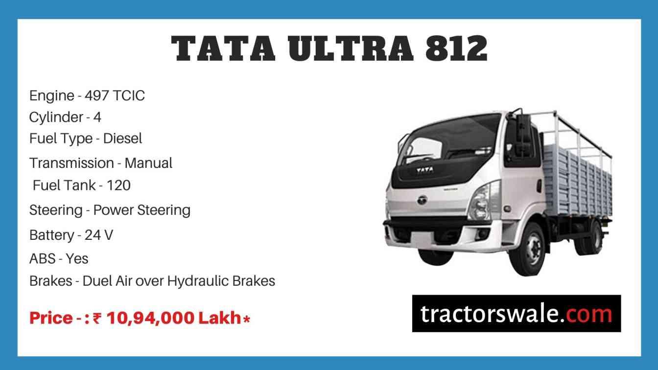 Tata Ultra 812 Price