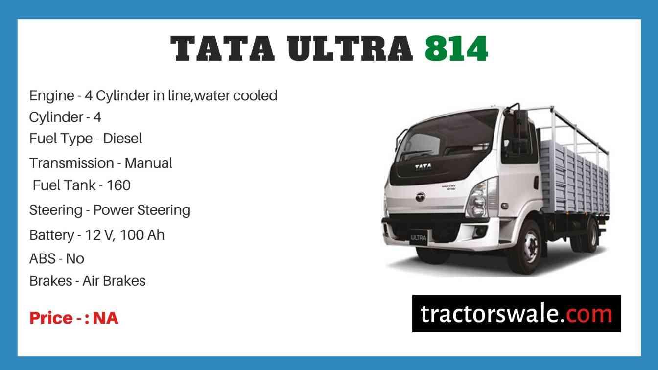 Tata Ultra 814 Price