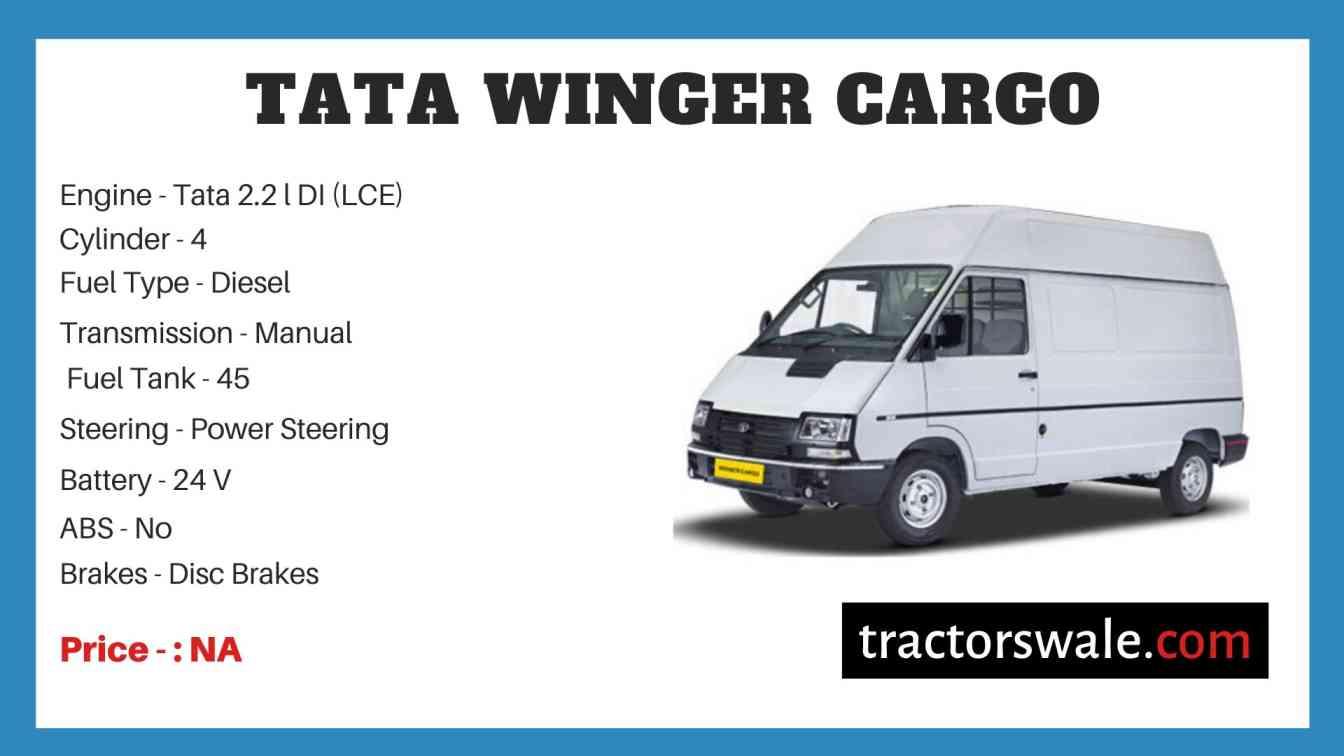 Tata Winger Cargo Price