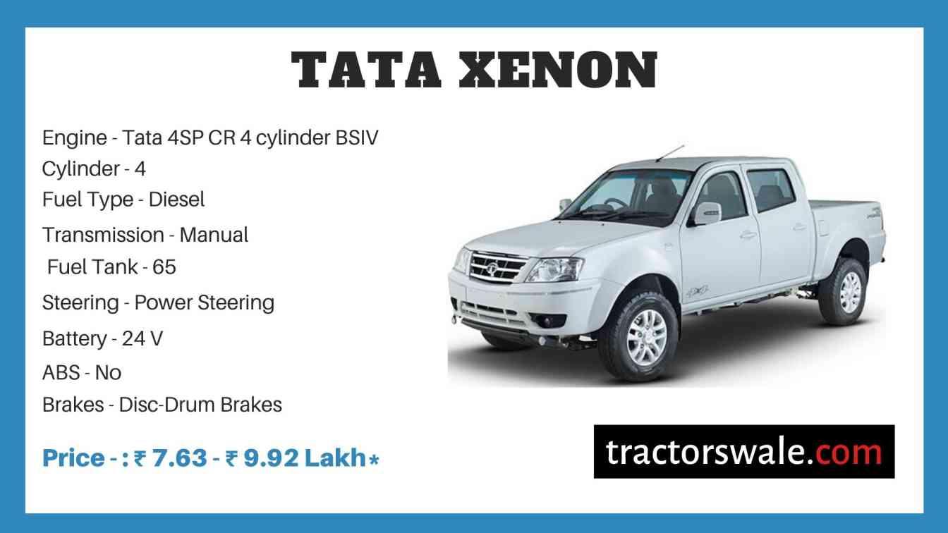Tata Xenon Price