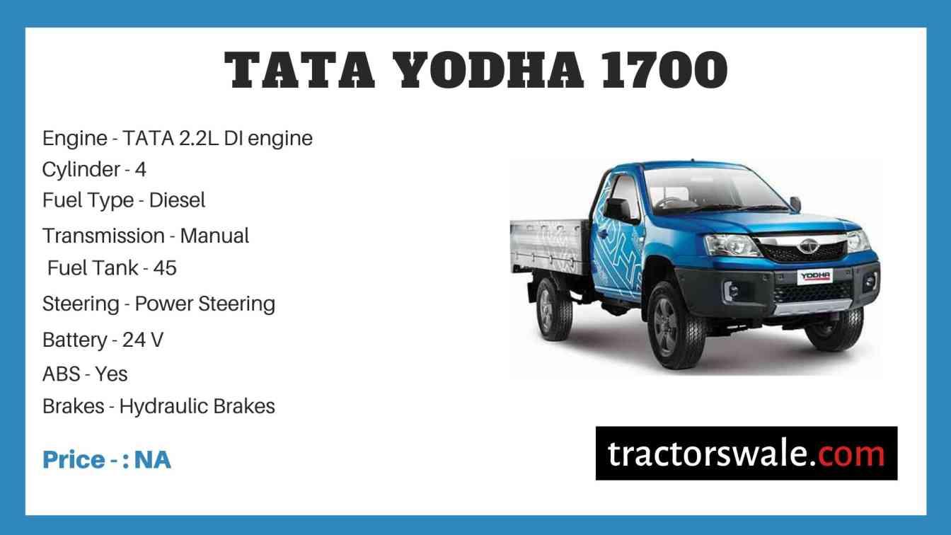 Tata Yodha 1700 Price