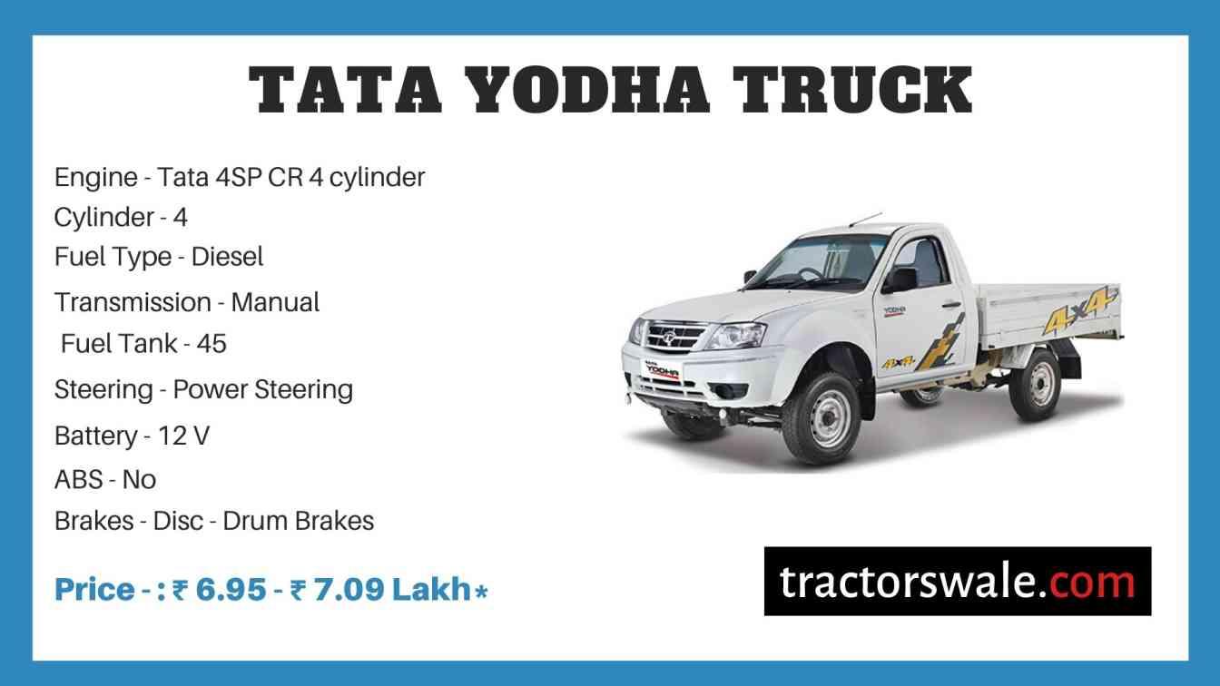 tata yodha price