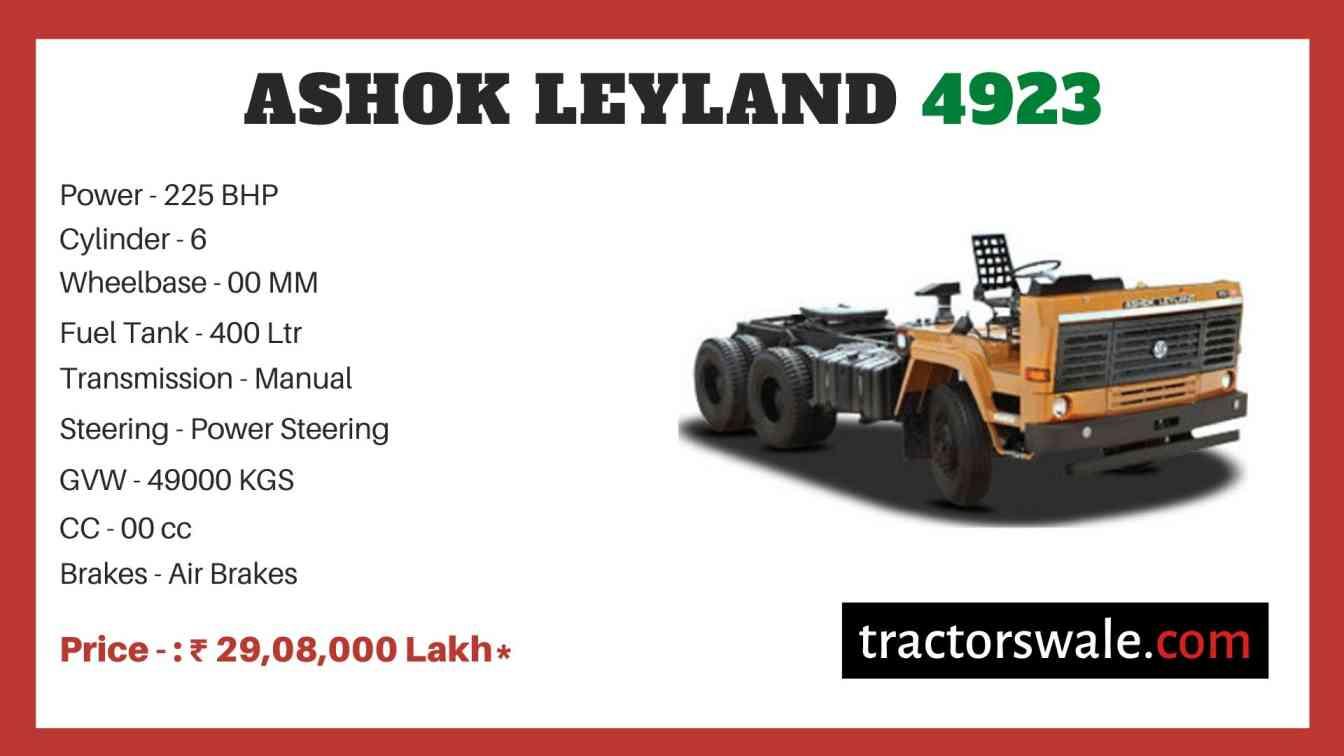 Ashok Leyland 4923 price