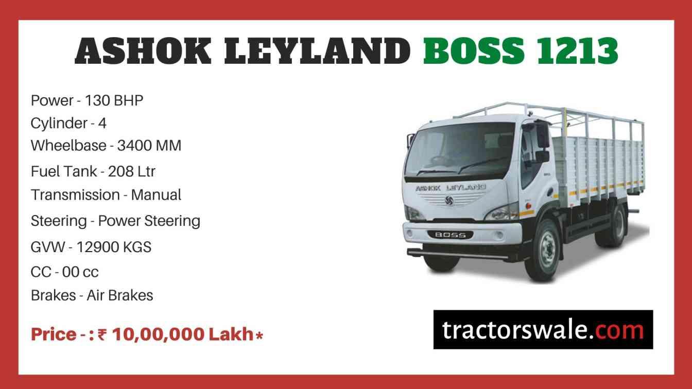 Ashok Leyland Boss 1213 price