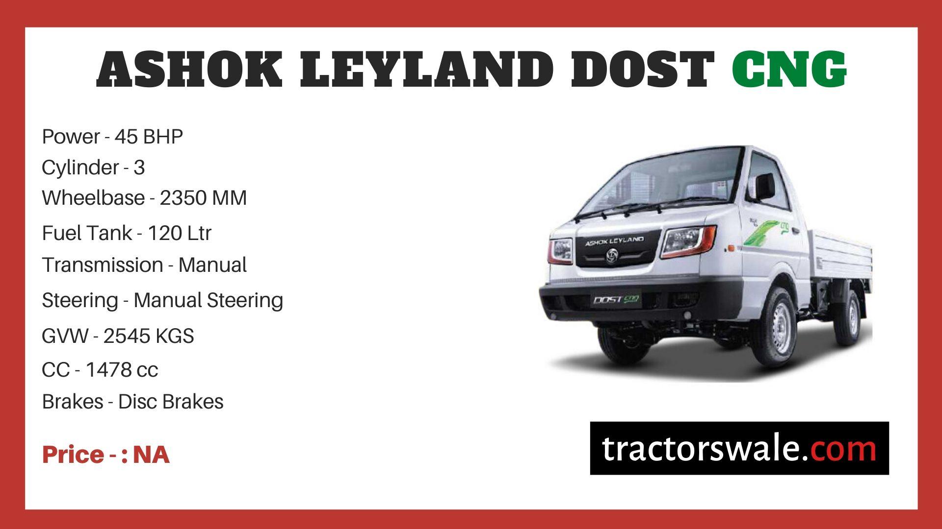 Ashok Leyland DOST CNG price