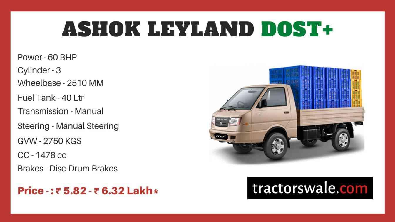 Ashok Leyland Dost+ price