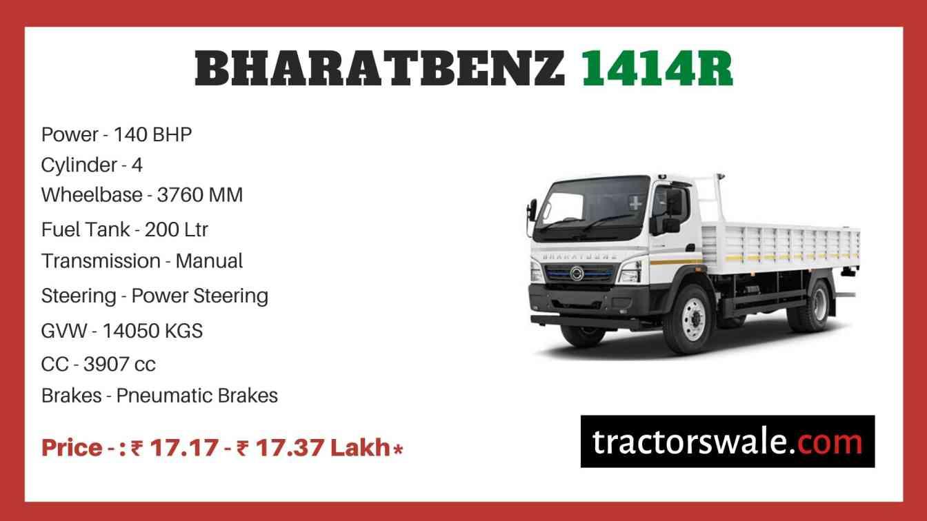 Bharat benz 1414R price