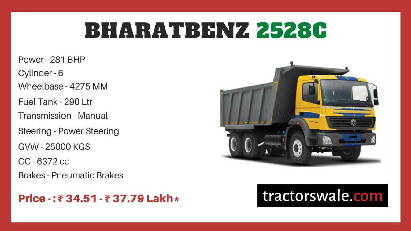 Bharat benz 2528C price