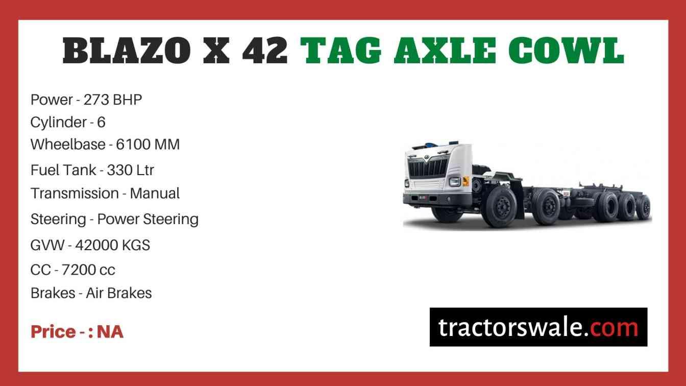 Mahindra Blazo X 42 TAG AXLE COWL Price