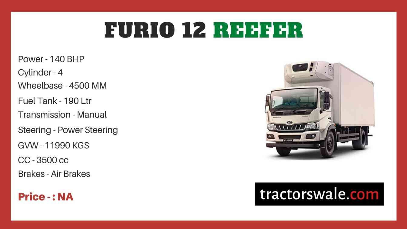 Mahindra Furio 12 Reefer Price