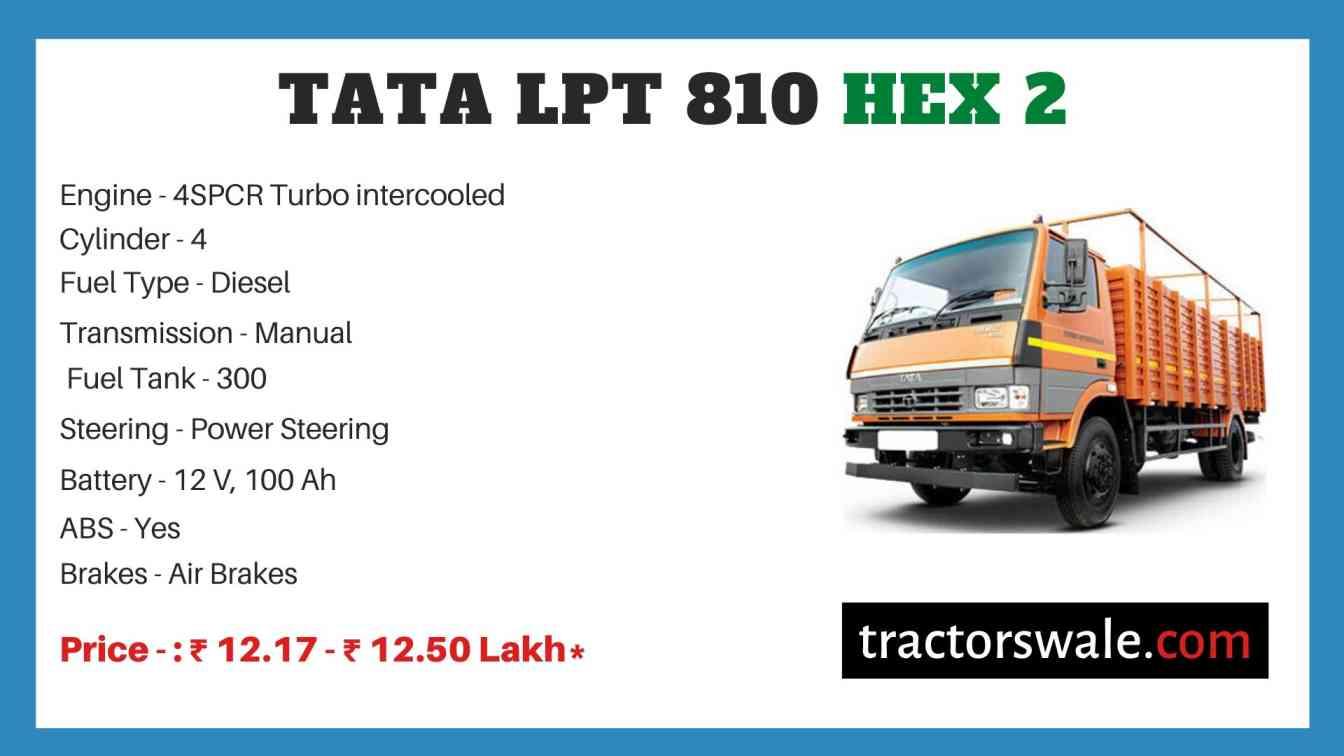 Tata LPT 810 HEX 2 Price