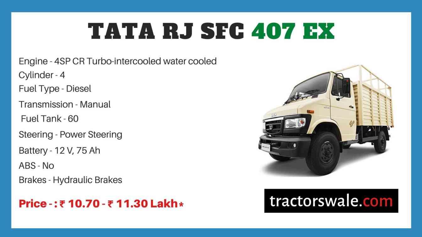 Tata RJ SFC 407 EX Price