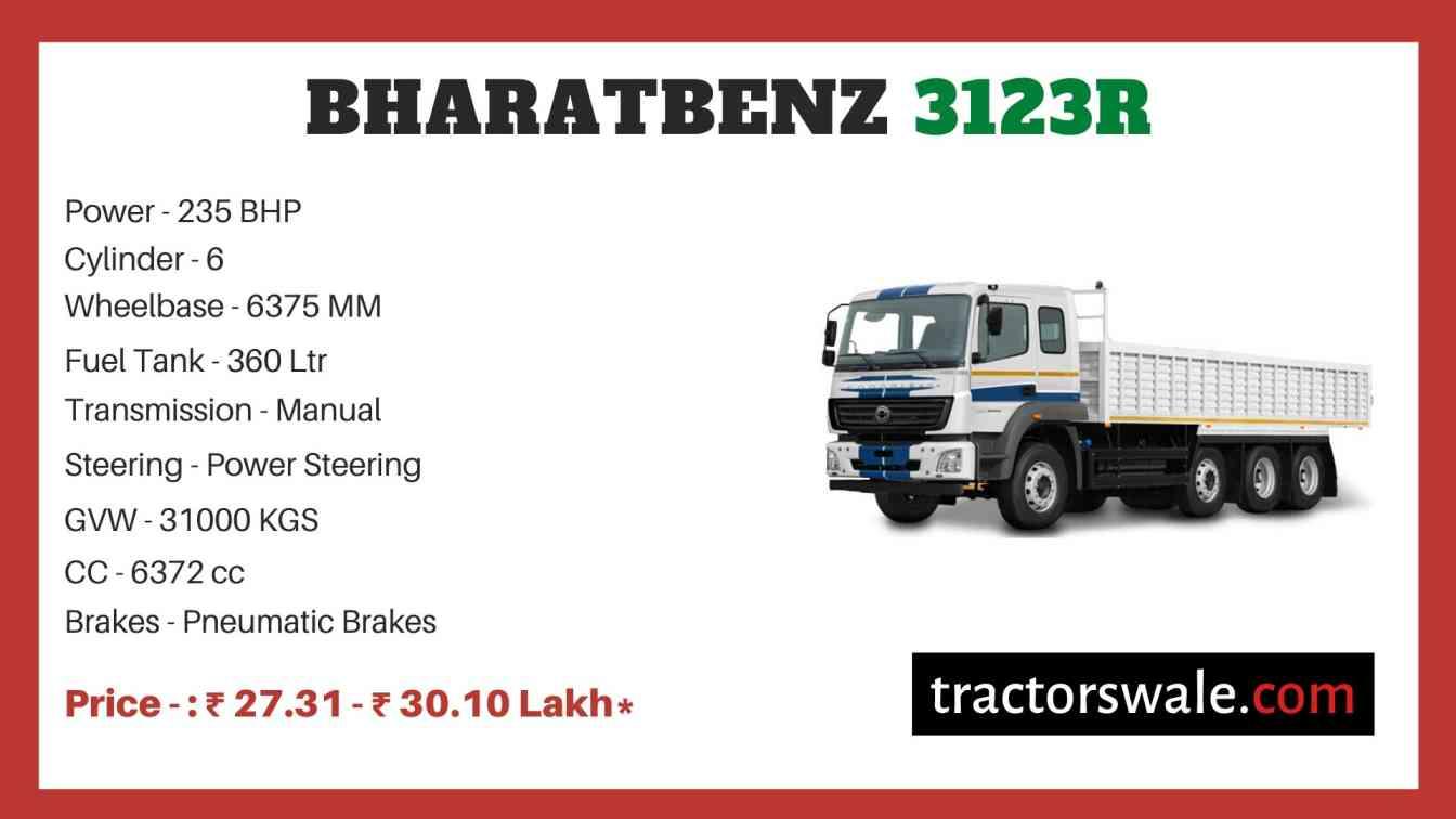 bharat benz 3123R price
