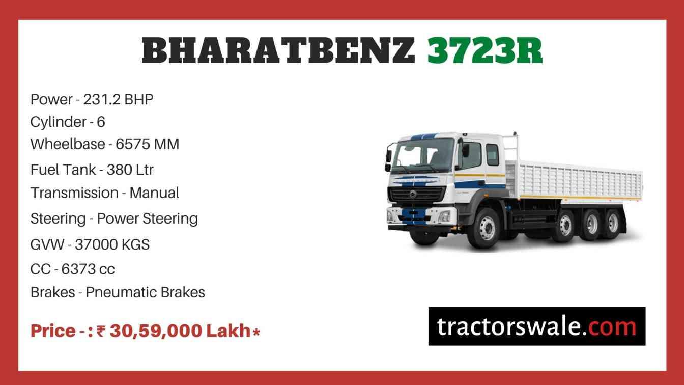 bharat benz 3723R price