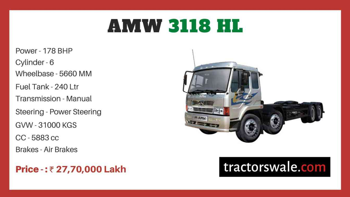 AMW 3118 HL price