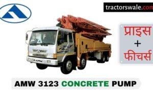AMW 3123 Concrete Pump Price in India, Specs, Mileage | 2020