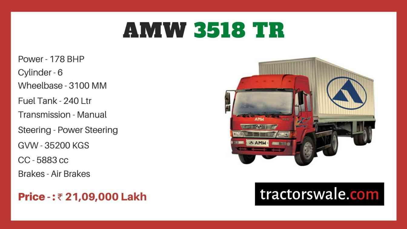 AMW 3518 TR price