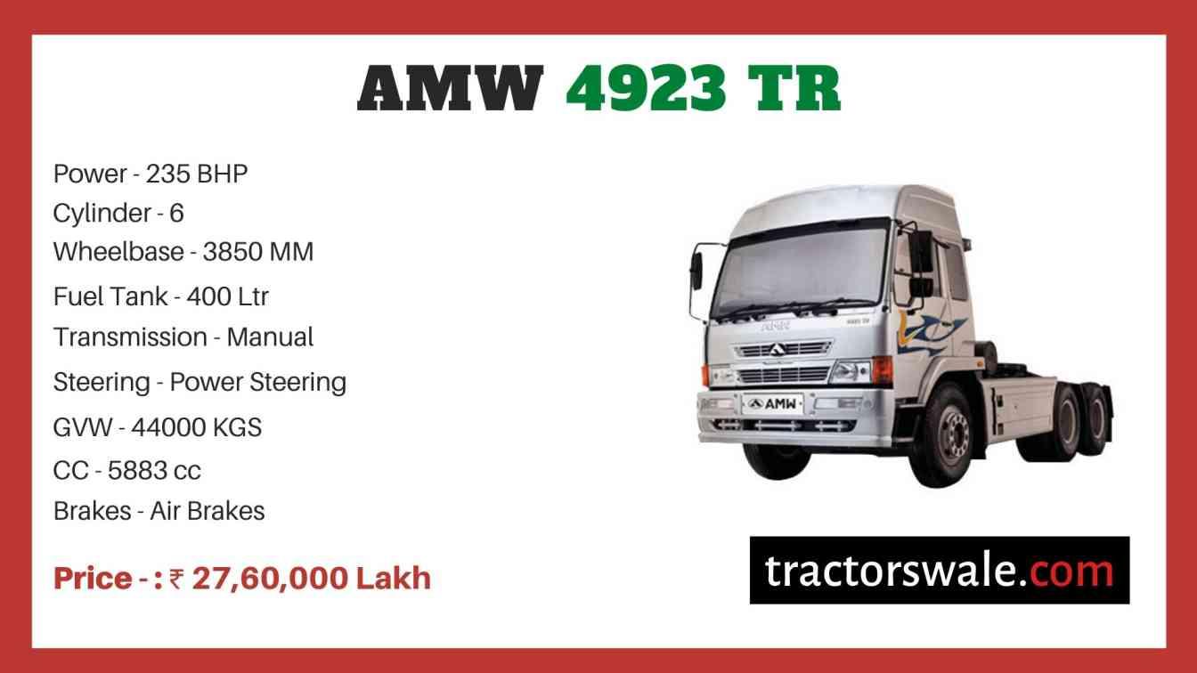 AMW 4923 TR price