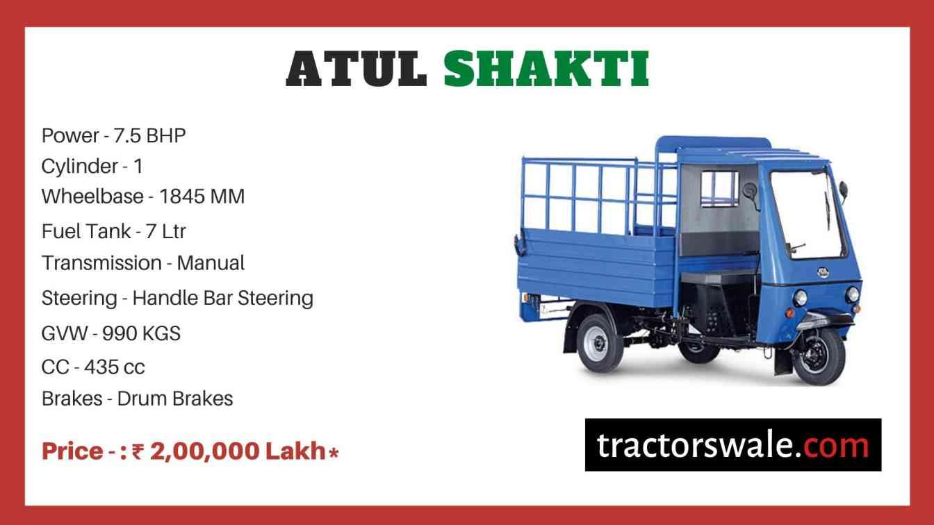 Atul Shakti price