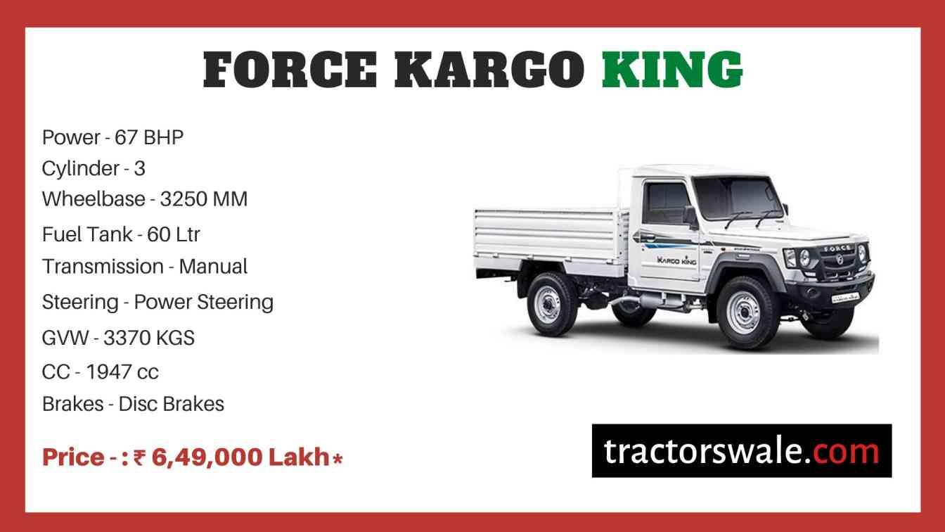 Force Kargo King price