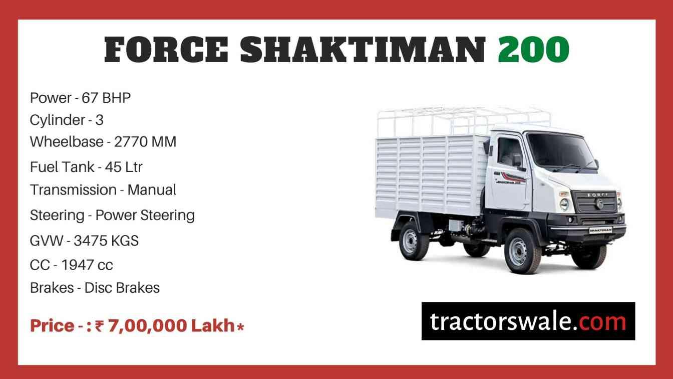 Force SHAKTIMAN 200 price